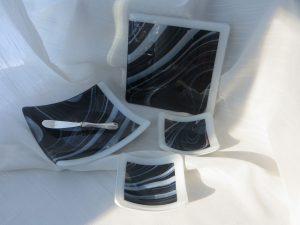 Fused Glass Tableware - Torrie S. Designs